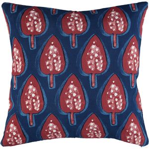 Red Trees 40x40cm Cushion Cover
