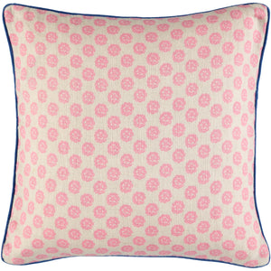 Pink Clover Cushion Cover 40 x 40cm