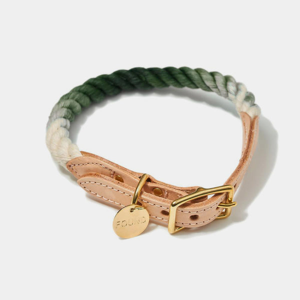 Hundehalsband «Olive Ombre»