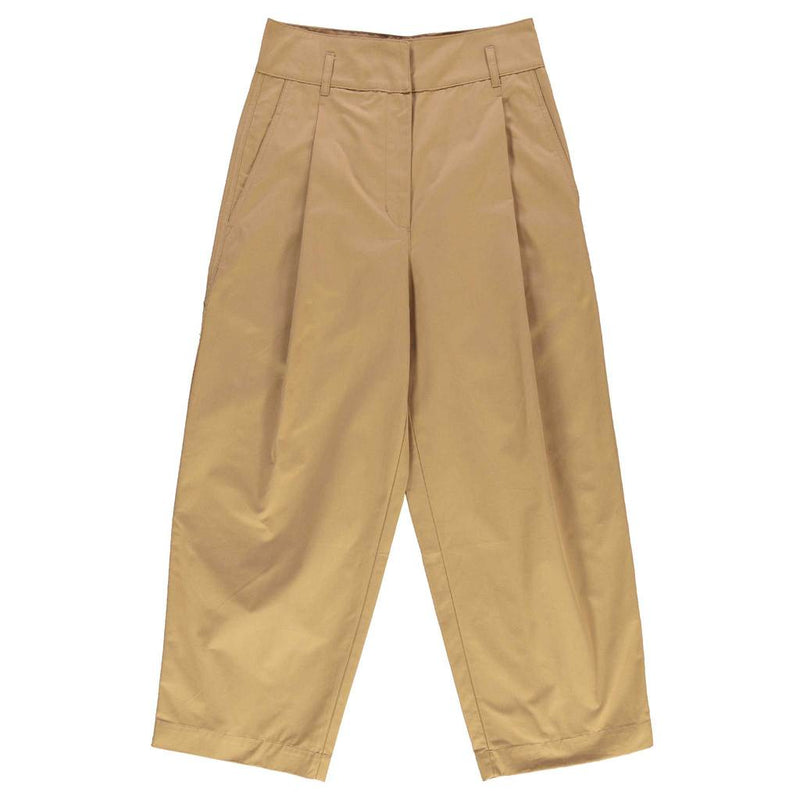 Pleated Worker Pants