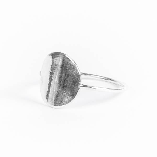 Ring «Geometry Coin»