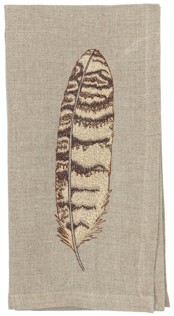 Owl Feather Napkin