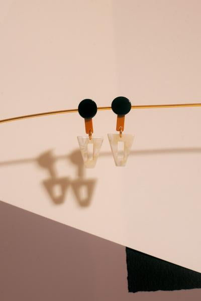 Acetat Earrings «Diop»