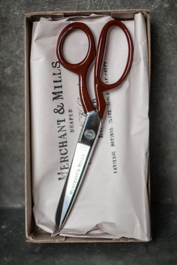 Red Tailor Shears 10""
