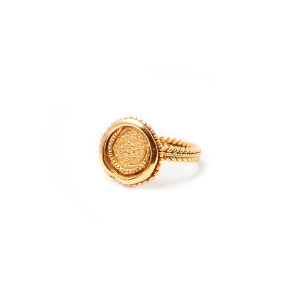 Ring «Creissant», Gold