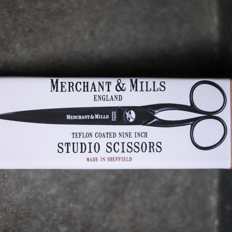 Black Studio Scissors, Merchant & Mills