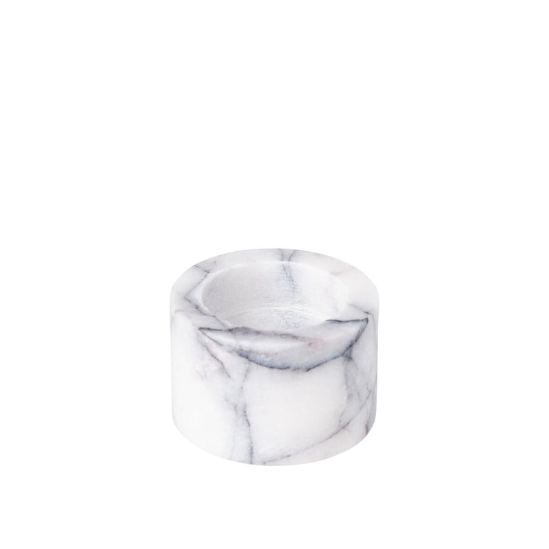 Marble Tea Light Holder, Stoned
