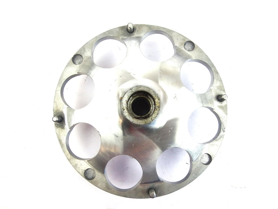 Lambretta - OutBoard Front Disc Kit Replacement Hub - Billet Type - Bare Metal