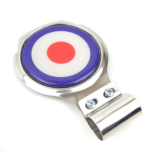 Bar Badge/Plaque - MOD Target - Stainless Steel