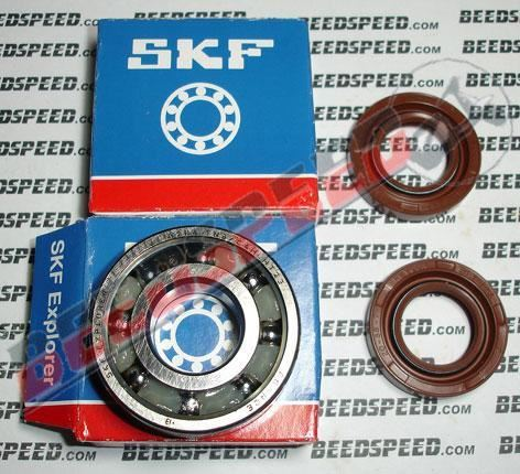 Crank Shaft Bearing And Seal Kit Derbi Senda, Gilera GSM 50cc