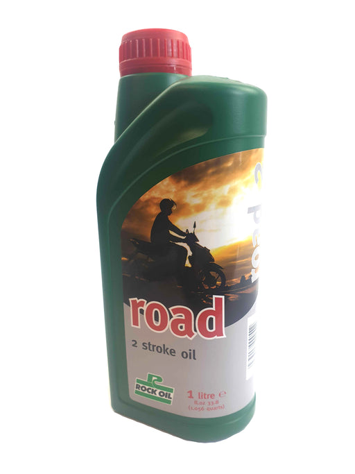 Rock Oil 2Stroke Road Premix or Injection 1 Litre