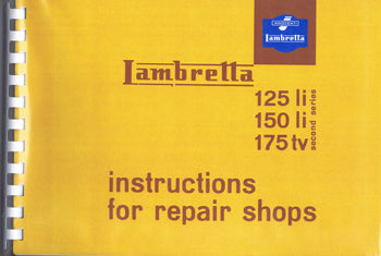 Manual - Lambretta Series 2 - Instructions For Repair Shops