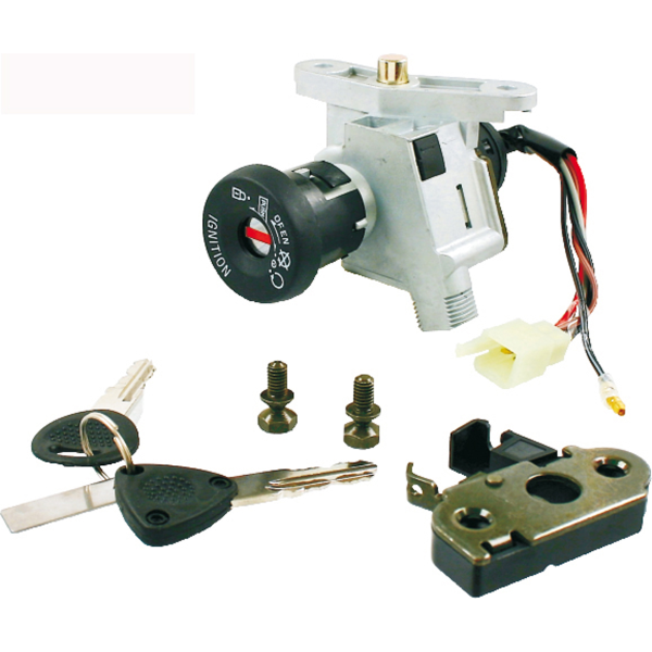 Electrical - Ign Switch And Seat Latch - MBK OVETTO/YAM NEOS