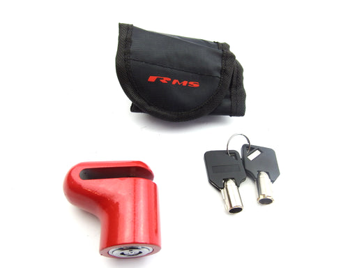 Lock - Disc Lock - 6mm Pin - With Case - 28 800 0130 - Red Colour
