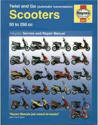 Manual - Haynes - Twist and Go Scooters - Beedspeed, Scooter Parts & Accessories For Lambretta, Vespa & More