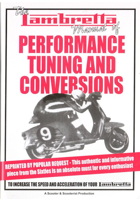 Lambretta Manual of Performance Tuning And Conversions Manual - Beedspeed, Scooter Parts & Accessories For Lambretta, Vespa & More