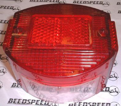 Lambretta - Lamp - Rear Light Lens - Spanish Servetta