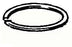 Vespa - Piston Ring - For Polini 210cc Kit - P200/Cosa/Rally -