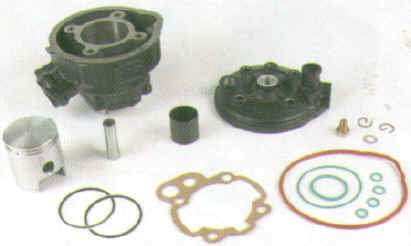 Gasket Set - 75cc - For DR 1925 Kit - Minarelli AM Motors - LC