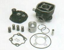 Piston Kit - 70cc - For DR 1739 Kit - Derbi Senda - LC