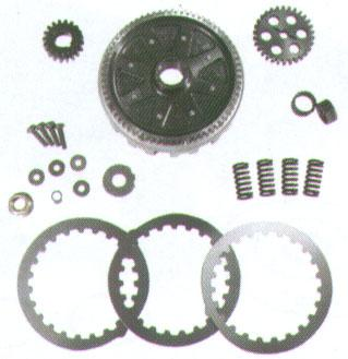 Racing Clutch And Gear Kit - DR Top Performance - Minarelli AM
