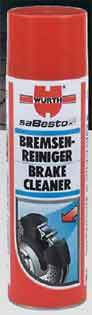 Brake Cleaner Spray - WURTH - saBesto - 500ml