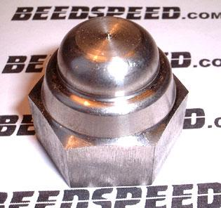 Fastener - Nut - Domed Stainless Steel M16 X1.5 Large Hex