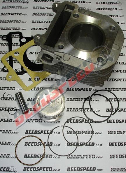 Cylinder Kit - 125cc - 4 Stroke - 51.50mm Bore - Air Cooled