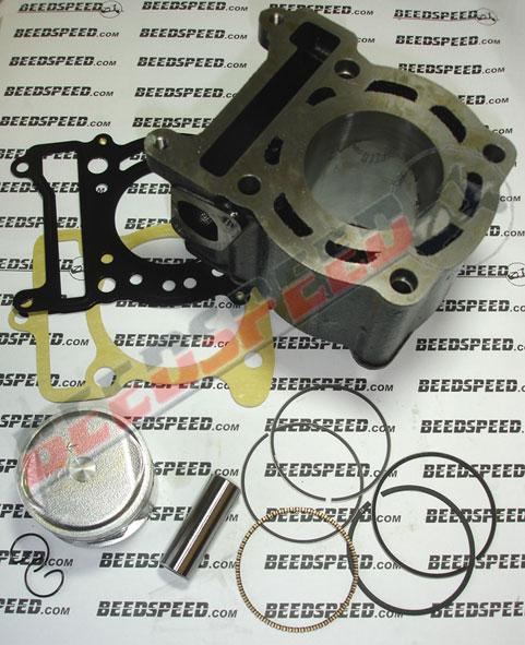 Cylinder Kit - 125cc - 4 Stroke - 53.70mm Bore - Liquid Cooled