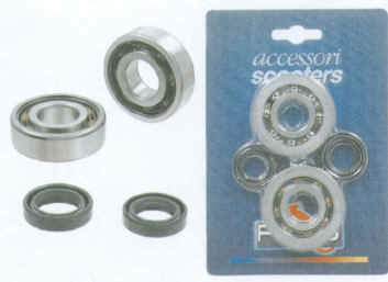Crankshaft Bearing And Seal Kit - Gilera/Piaggio 125/180