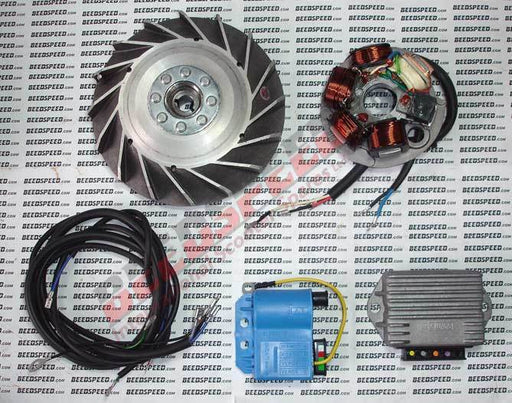 Vespa - Electronic Ducati Kit 50 Special - 12 v AC Lighting with DC Facility