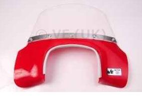 Lambretta - Flyscreen - MOD Style - GP - Solid Red