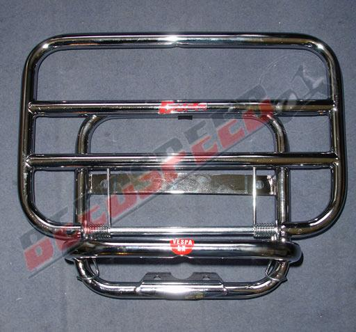 Automatic - Body Work - Vespa LX - Chrome Rear Carrier - FACO