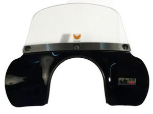 Automatic - Windscreen - Vespa LX - MOD Flyscreen - Black/Blue/R