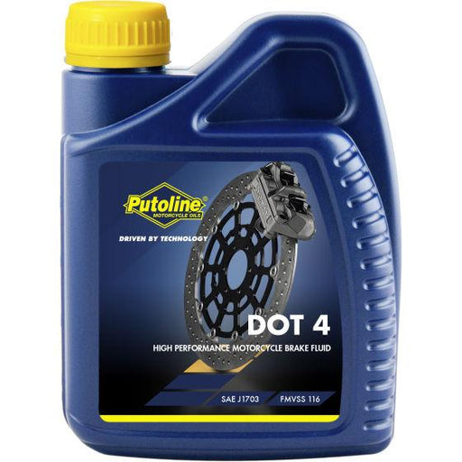 Brake Fluid - Putoline Dot 4 - 500ml
