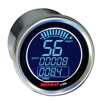 Speedo - Digital - KOSO - Black Edition - Speed/Odo/Trip/Fuel
