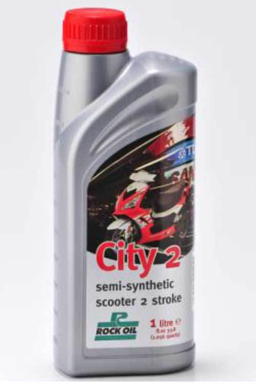 Oil - Rock Oil - 2Stroke City2 Semi Synthetic - 1 Litre