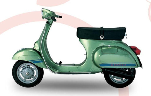 Vespa - Side Panel And Front Mudguard Stripes - ET3 - Blue