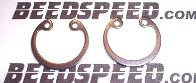 Vespa - Piston Circlips - Pair - PRIM, PX125/150, SUPER, SPRINT