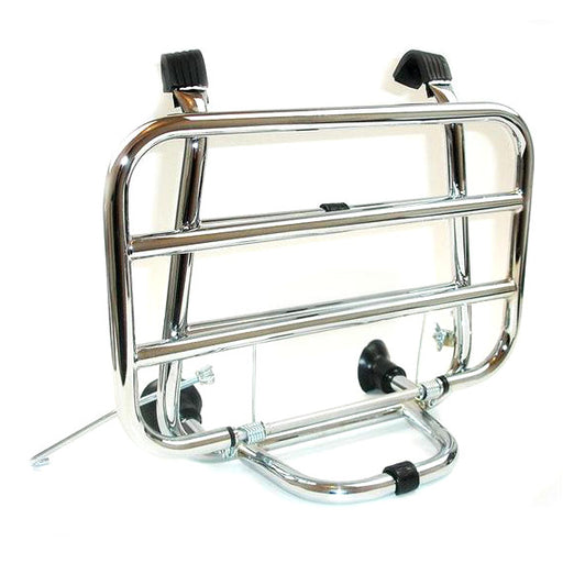Vespa - Carrier - Front - Chrome - Italian - Close Fit
