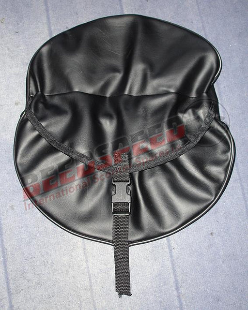 "Wheel - Spare Wheel Cover 10"" - Black with Pouch - Clip Type"