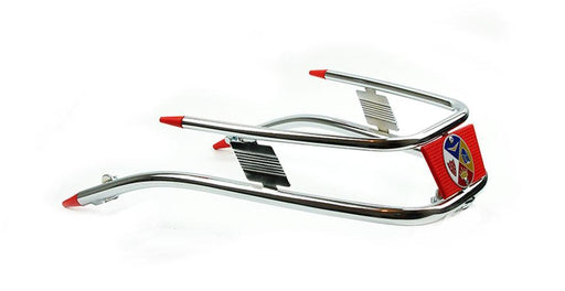 Vespa - Front Bumper Bar - Cuppini - Rally/Sprint - With Red Trim