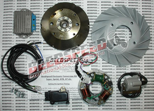 Vespa - Electronic Kit - Super/Sprint - With Battery Facility