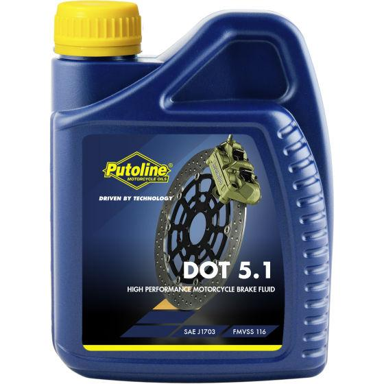 Brake Fluid - Putoline Dot 5.1 - 500ml