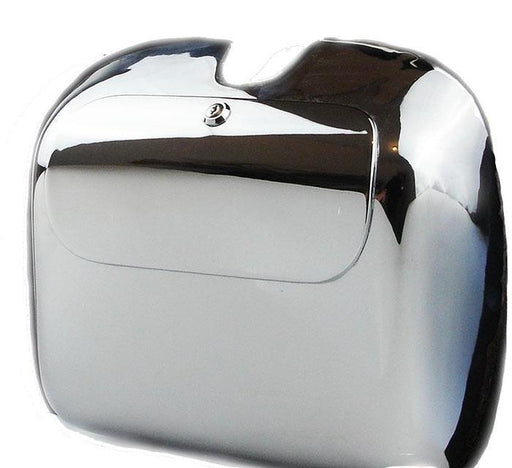 Vespa - Tool Box and Lid Assembly - GS Style For PX - Chrome