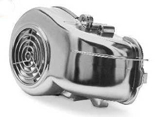 Automatic - Flywheel Fan Cover - Minarelli Horizontal Engines- Chrome