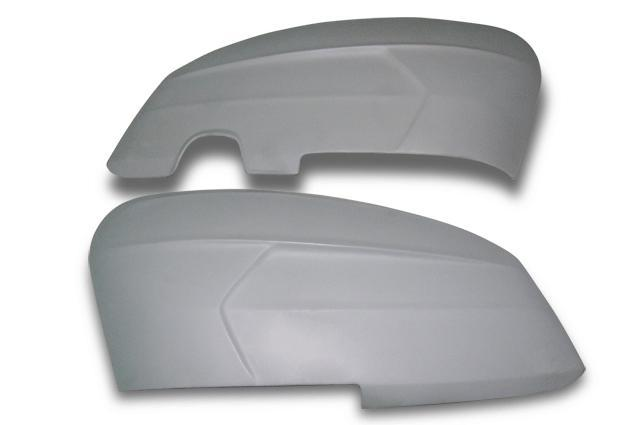 Lambretta - Side Panels - SX200 - Clip On, No Handle Hole - Pair