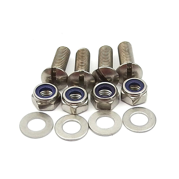 Number Plate Screw Kit S.S