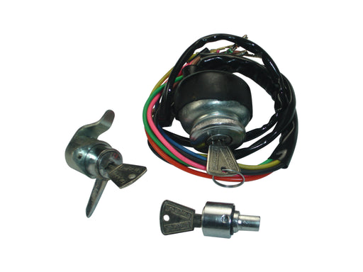 Lambretta - Ignition Switch Set - Series 3 Li - TV Ign./Tool/Steering Lock