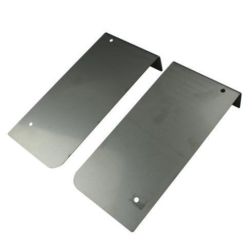 Lambretta Series 1 2 3 GP Li SX TV Cut Off Rear Runner Boards - Stainless Steel